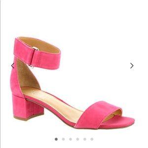 NIB! Franco Sarto Rosalina Pink Suede Shoes, 10
